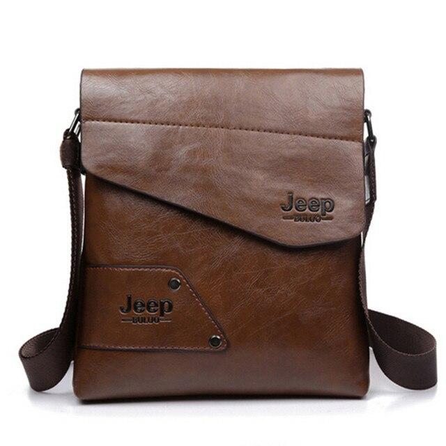 Men messenger bags top leather bag briefcase designer high quality shoulder bag