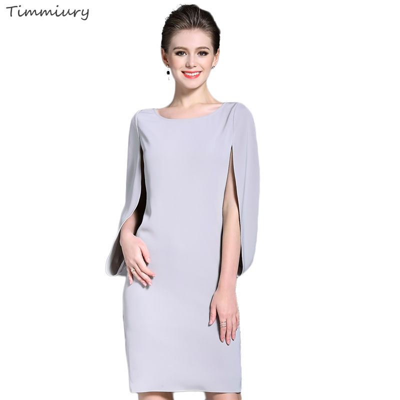 Buy Cheap Timmiury Women Summer Dress Elegant Batwing Sleeve Sexy Party Dresses 2017 Summer Tops O-neck Midi Dress Womens Office Plus Size