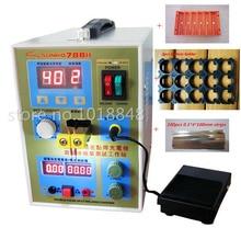 220 v/110 V Neue upgrade led-beleuchtung 788 H doppelpuls präzision 18650 Punktschweißgerät Batterie Schweißer, 788 h
