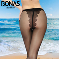 15D Bikinis stockings silk pantyhose summer incarcerators ultra-thin female black sexy invisible stocking