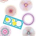 1 Unids Geométricas Spirograph Regla de Redacción Sets Regalo Creativo Para Los Niños