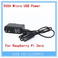 5pcs  US Power Supply adapter 5V2A Micro USB Power Charger with ON/OFF switch Cable For Raspberry Pi Zero Raspberry Pi 2 PI0002
