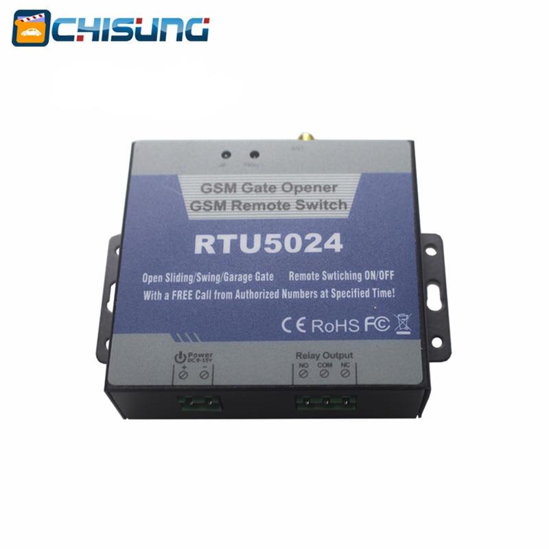 2017 new Access control GSM Gate relay wireless door opener Remote Control Swing gate sliding garage door locks RTU5024