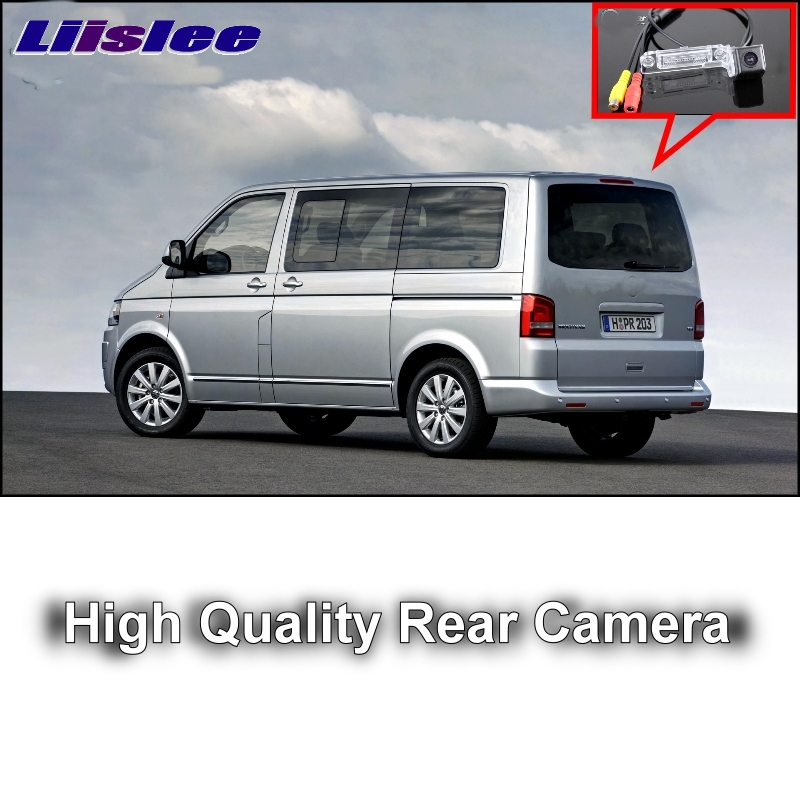 Car Camera For Volkswagen VW T5 Transporter / Caravelle / Multivan High Quality LiisLee Rear View Back Up Camera  CCD + RCA