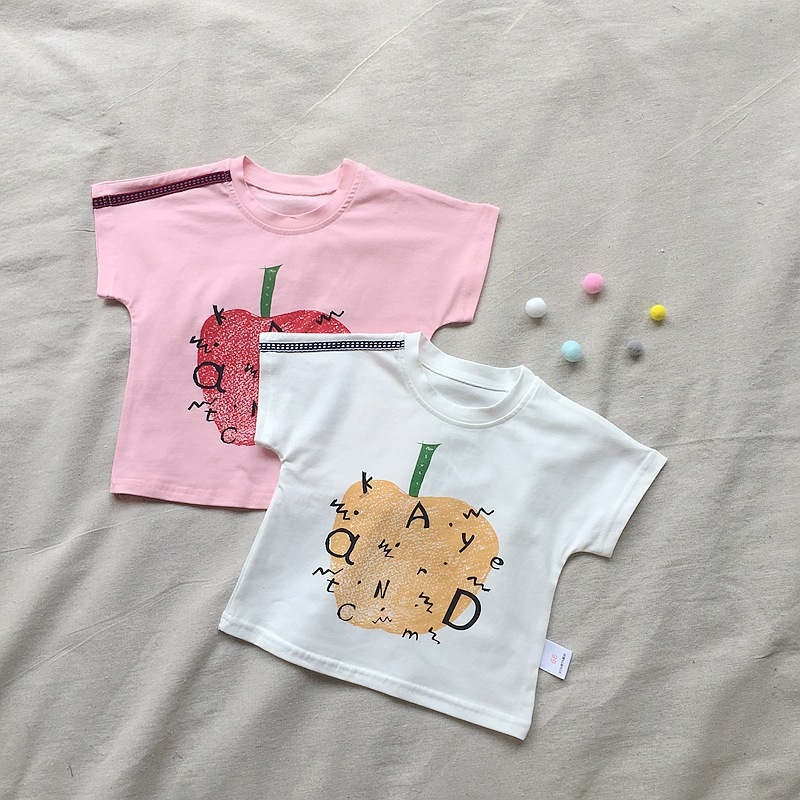 Diamond Hands Baby T-Shirt Toddler Cotton T Shirts Cartoon Clothes for 6M-2T Baby