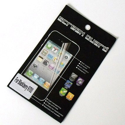 High Clear Screen Protector for BlackBerry Onyx 9700 Screen Guard with Retail Packaging 50pcs/lot Free Shipping
