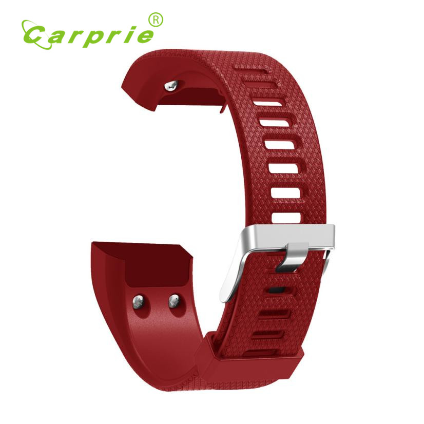 Carprie New Replacement Soft Silicone Bracelet Strap WristBand for Garmin Vivosmart HR+ 17Jul07 Dropshipping