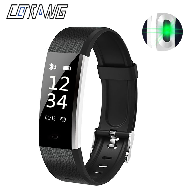 COXANG V5 Smart Bracelet Heart Rate Monitor Blood Pressure Smart Band Step Counter Activity Tracker TianTian App For Android ios