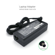 цена на Hot Selling 90W AC Adapter Power Cord Charger for Sony VGP-AC19V32 VGP-AC19V36 19.5V 4.7A 6.0*4.4mm Laptop Adapter