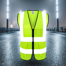Motorcycle Reflective Jacket Vest Safety High Visibility Chaleco Reflectante Moto Riding Chaleco Motorsiklet Yelek Plus Size цена