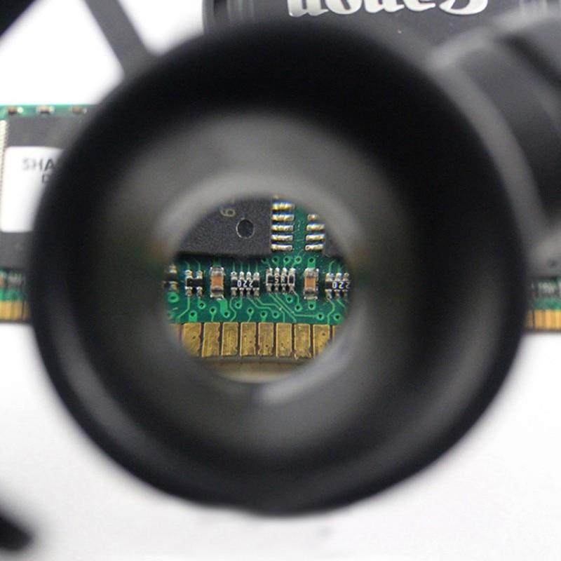 10X 15X 20X 25X nagyítóval dupla LED lámpák szemüveg lencse - Mérőműszerek - Fénykép 6
