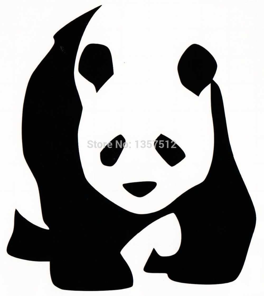 Гигантская панда Медведь стикер автомобиля для окна грузовика, бампера авто SUV двери каяк виниловая наклейка 13 цветов