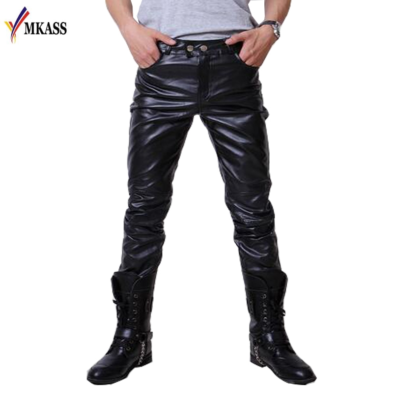 Shop mens leather and faux leather jackets on custifara.ga Free shipping and free returns on eligible items. Men`s Black Slim Fit Soft PU Faux Leather Biker Pants. from $ 25 50 Prime. out of 5 stars Tanming. Men's Pu Leather Jacket with Removable Fur Hood. from $ .