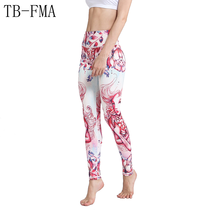 Yoga Pants Women Widen Waist Dance Fitness Leggings Anti-sweat Compression Sport Tights Yoga Sportswear Leggings Running Tights