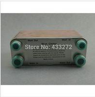 Stainless Plate Wort Chiller plate heat exchanger 40 plates Brewing Chiller, 1/2male BSP X 3/4 male BSP Garden hose Thread