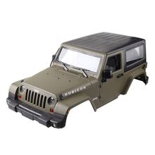 1:10 RC Scale Truck Climbing Car Hard Body Shell For Wrangler Jeep Model Toys Accessories