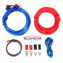 (Shipping From DE ) 10 GA Amplifier Power Amplifier Subwoofer Set Cable Kit Car Car Hifi Cinch Chinch 5m
