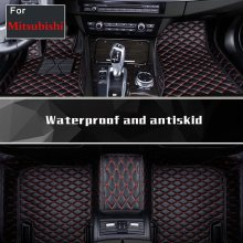 2018 Car Interior Floor Mats Floor Liner Fit All-Weather Waterproof For Mitsubishi Galant Lancer Lancerex Lancer Fortis Zinger