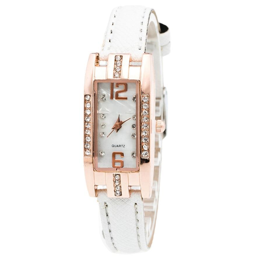 OTOKY reloj Quarz Damenuhr Mode Diamanten Kleid Damen Lässig - Damenuhren - Foto 5