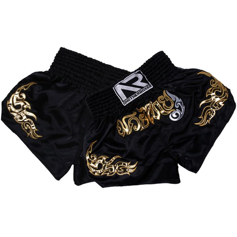 NEW MMA Shorts Muay Thai Boxing Short Pants Fighting Sport Kick Men