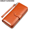 2017 Fashion Women Leather Wallets Lady Clutch Bag Female Coin Purses Holders Coin Pouch Change Purses Womens Wallets Monederos