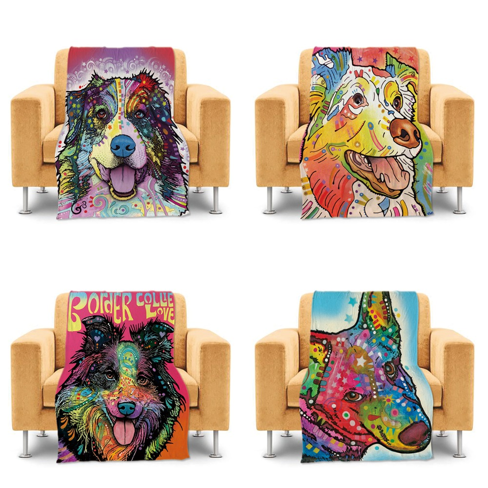 compare prices on pet throw blanket online shoppingbuy low price  - cute boston terrier dog home throw blanket custom bed sofa couch blanketcolorful pet dog lightweight