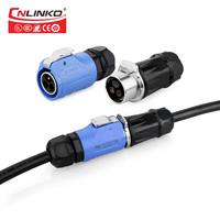 CE TUV UL Approved M20 2 3 4 5 7 9 12 Pin Multi core Power&Signal Cable Connector For LED Lighting Fixtures Medical Instruments Connectors     -
