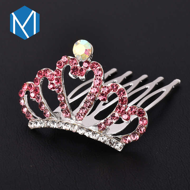 Coiffure de mariage multicolore pour femme fille strass pinces à cheveux princesse couronne cheveux accessoires enfants bandeau épingles à cheveux
