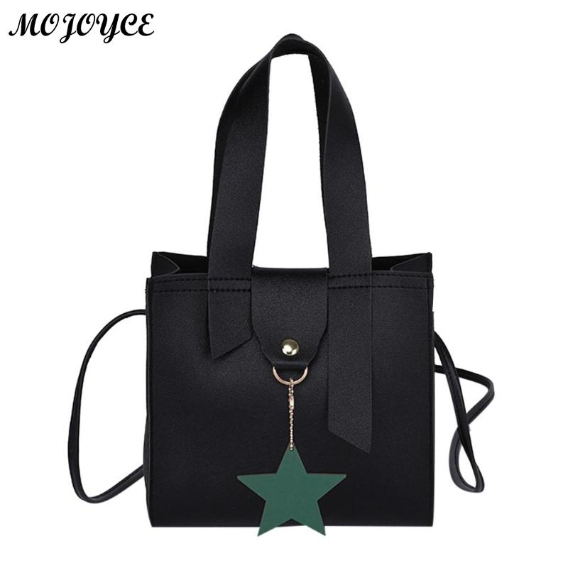 Popular Brand Women Laser Solid Star Shoulder Bag Small Round Handbag Phone Coin Bag High Quality Bags 2019 For Women #zer Pure White And Translucent Luggage & Bags Shoulder Bags