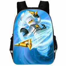 2019 Children School Bags ninjago Game Schoolbag for Boy Backpack 3d Printing Book Bag Backpack for Teenagers sac a dos enfant(China)
