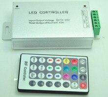 DC12-24V 12A РФ 28-key RGB LED Контроллер с CE, ROHS. также может DIY, для RGB СВЕТОДИОДНЫЕ Ленты. RGB Стены Стиральная Машина Света И Т. Д.