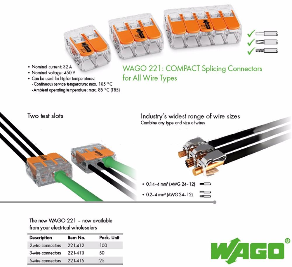 Connectors; 25pcs led Stop118 5