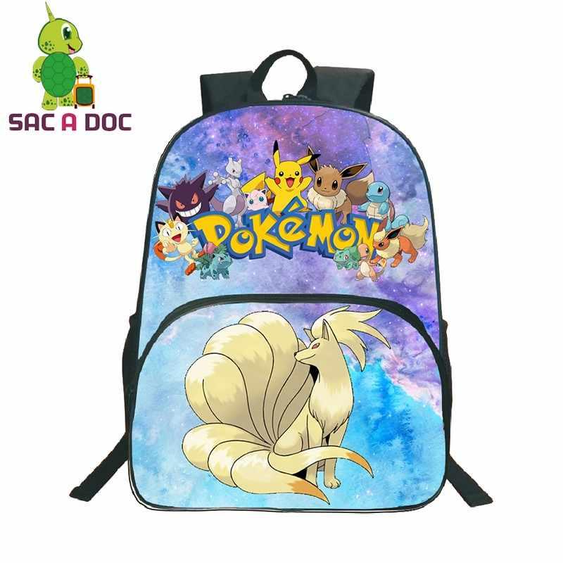pokemon ninetales backpack for