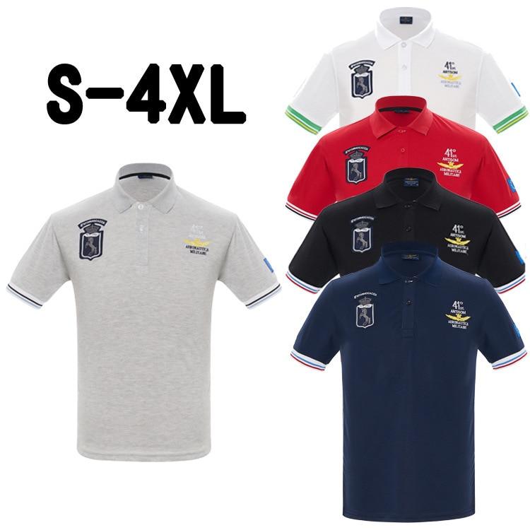2019   Polo   Shirt Men Summer Ralphmen Pol Shirt 100% Cotton Short Sleeve