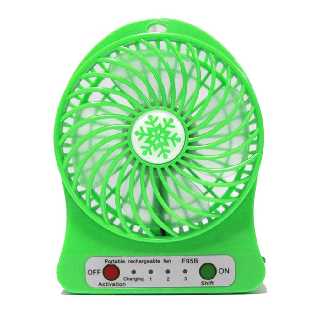 Mini Desk USB Fan Outdoor Travel Camping LED Light Fan Electric 3 Speed Mode Flexible Ventilator Car Laptop Table Home in Outdoor Tools from Sports Entertainment
