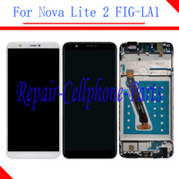 Original Full LCD display + Touch screen digitizer assembly With Frame For Huawei Nova Lite 2 FIG LA1 ( not for Nova lite )