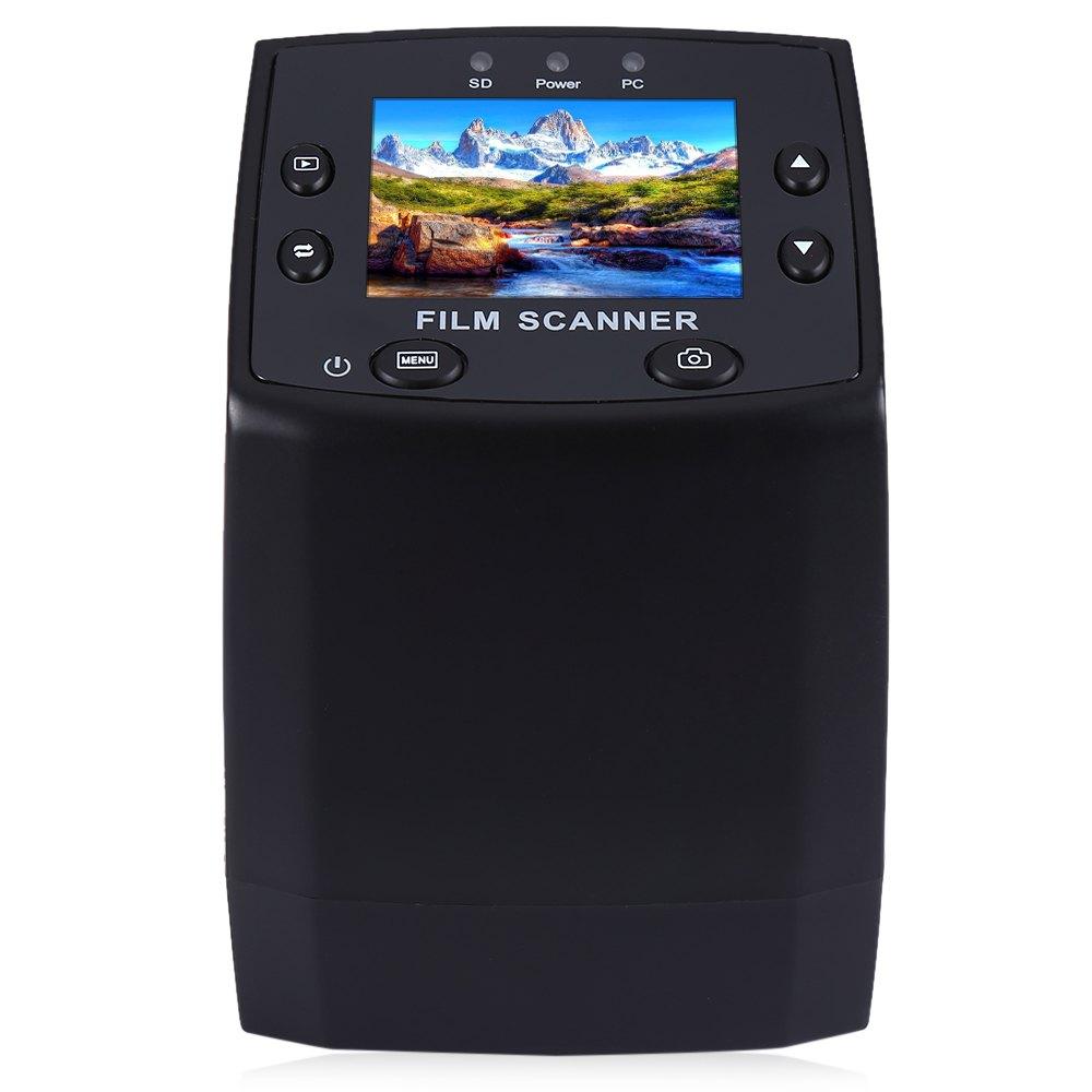 Prix pour EC717 5MP 35mm Film Négatif Diaporama Spectateur Scanner USB 2.0 Numérique couleur Photo Copieur 2.4 Pouce TFT LCD Écran Pour Home Office