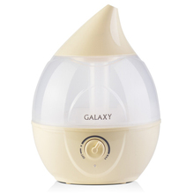 Увлажнитель воздуха Galaxy GL 8005 (Увлажнитель ультразвуковой 35 Вт, съемный резервуар объемом 2 л, выход пара 400 мл/ч, регулятор интенсивности, низкое потребление электроэнергии)