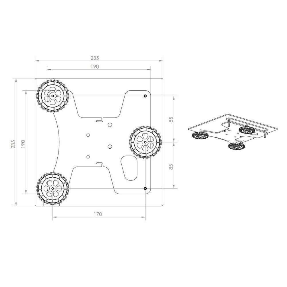 Light น้ำหนักประเภทโลหะ Y Carriage แผ่น 3 - point Leveling บาร์สำหรับ DIY Creality Ender-3 ender-3s 3D เครื่องพิมพ์