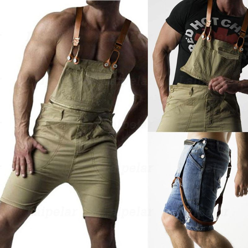 Laipelar 2019 Mens Casual Retro Denim Overalls Long Suspender Pants Spring Autumn Jeans Jumpsuit For Men Overalls Plus Size