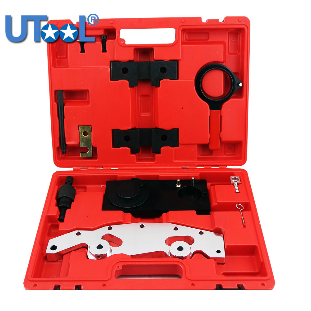 Double Vanos Camshaft Alignment Engine Timing Locking Tool Master Set for BMW M52TU M54 M56