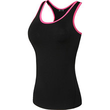 Jeansian Women's Quick Drying Slim Fit Tank Tops Tanktops Sleeveless Vest Singlet SWT237(China)