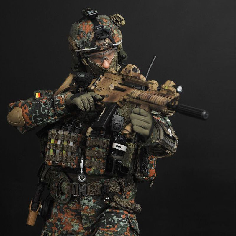 12inch Soldier Story SS088 High Simulation Germany KSK Special Forces 1/6 Soldier Set Toy Figures for Gift Collection simulation mini golf course display toy set with golf club ball flag