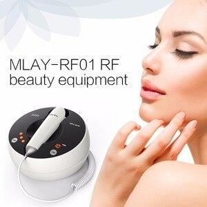 Image 2 - Mlay radiofrequência facial rf instrumento de beleza face care levantamento rugas linha fina remoção do rejuvenescimento da pele máquina