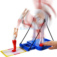 Funny Prince Of Horizontal Bar Table Toy Fantastic Party Gymnastics Game High Bar Dismount Family Interactive