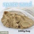 1000g Dinâmica Incrível Diy Brinquedos Educativos Plasticine Magia Interior Jogar fazer seca Areias Areias de Marte Espaço Argila Cor Para crianças