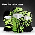 Motocicleta de la Cara Llena Máscara CS al aire libre Deporte de Invierno Máscara Transpirable MenWomen Negro Para Bicicleta Paseo En Bicicleta de La Motocicleta Del Calentador Del Cuello