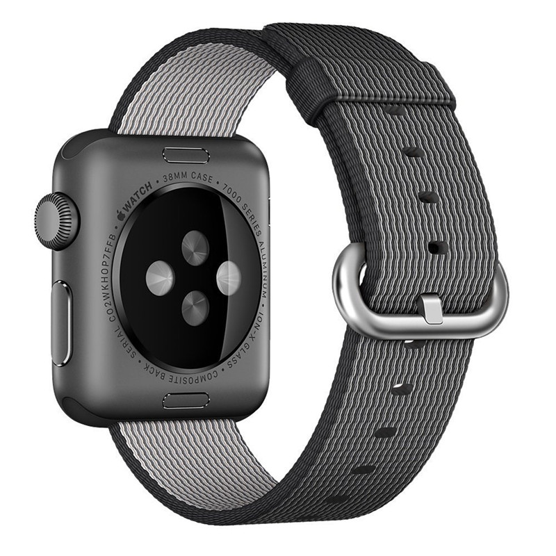Watch Band For Apple Watch 2 Strap Men Women Sport Nylon Fabric Watchband For iWatch 38mm 42mm Woven Watches Straps Accessories