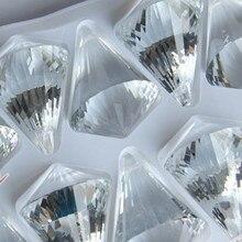 Gratis verzending dia.30mm transparante kleur 100 stks/partij kristal diamant bal voor kristallen kroonluchter hanger/gordijn hanger