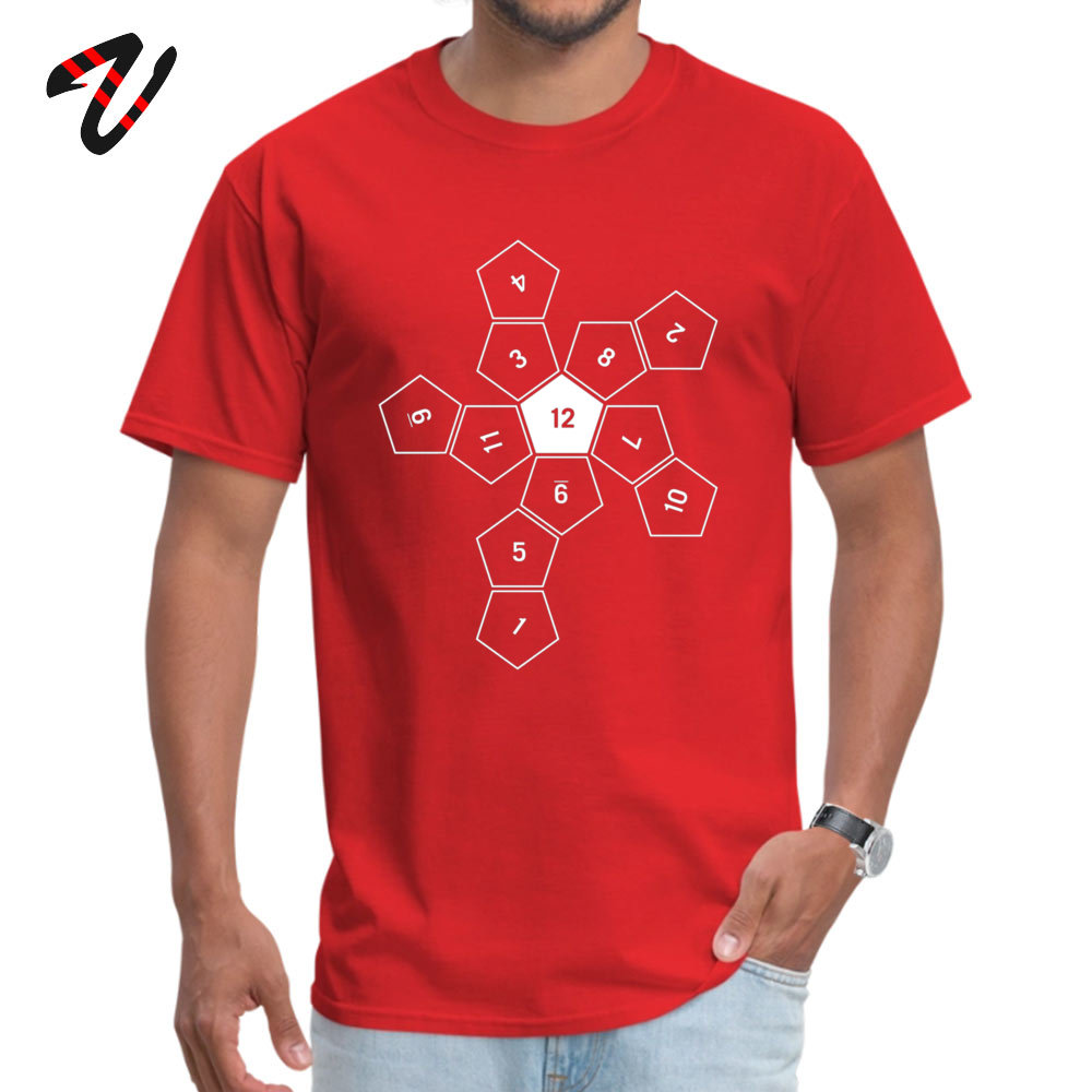 Unrolled D Crew Neck Top T-shirts Summer/Autumn Tops Tees Short Sleeve High Quality Cotton Design T-shirts Custom Men Unrolled D12 12015 red